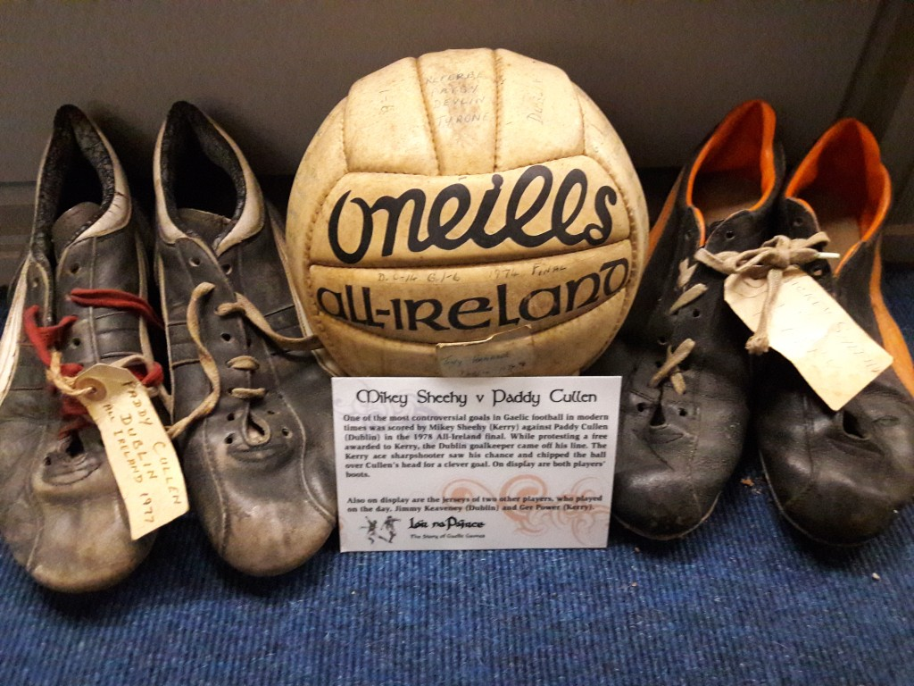 hy and Paddy Cullen's boots from